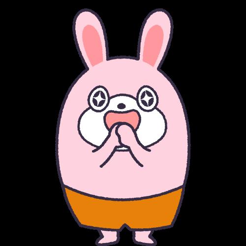 キャラクター素材:うさぽ1