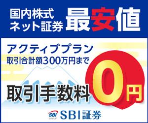 SBI証券【新規口座開設完了】